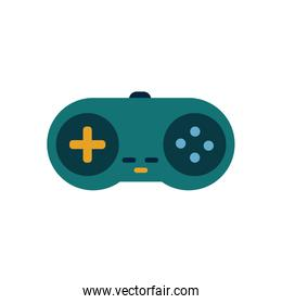 Isolated videogame control flat style icon vector design