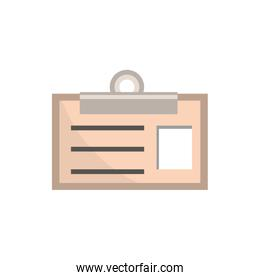 id card clip office work business equipment icon