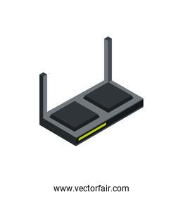 router antenna technology hardware device computer isometric