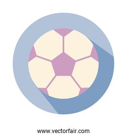 soccer balloon child toy block style icon