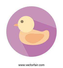 ducky child toy block style icon