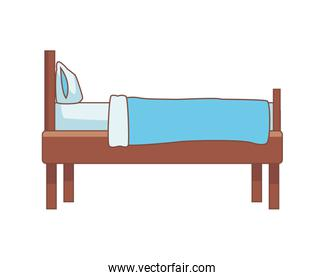 bed home forniture isolated icon
