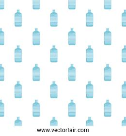 water big bottles containers pattern background
