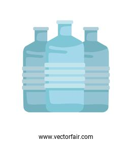 water big bottles containers icons