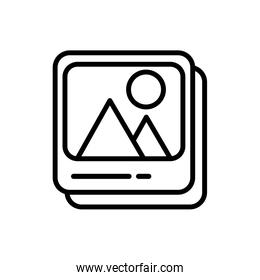 picture file format line style icon