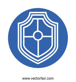 shield security block style icon