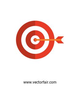 target arrow business strategy icon