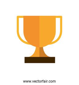 trophy award cup business strategy icon