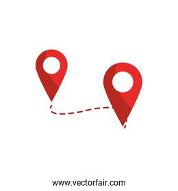 track pointer gps map and navigation