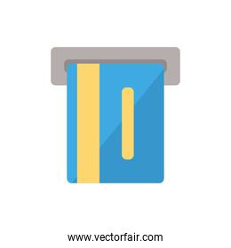 Isolated credit card icon vector design