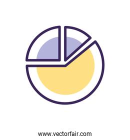 Isolated workflow icon fill vector design