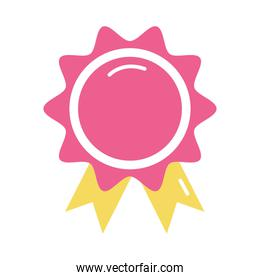 Isolated seal stamp icon vector design