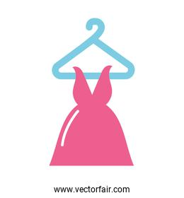 Isolated dress icon vector design