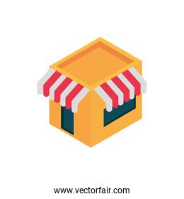ecommerce business internet store service icon