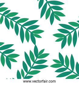 branch and leafs pattern background