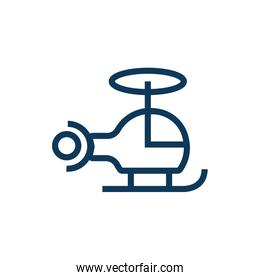 helicopter flying child toy line style design
