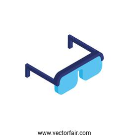 eye glasses optical accessory icon