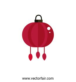 red lantern decoration culture traditional japan icon