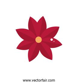red flower decoration ornament icon