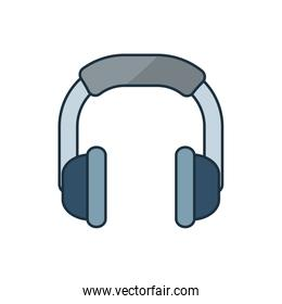 Isolated music note icon vector design