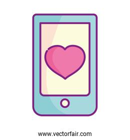 happy valentines day, smartphone application heart love romance icon