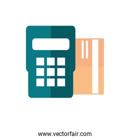 pos terminal bank card payment business commerce shopping