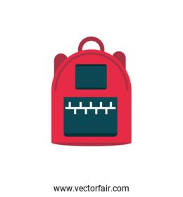 backpack accessory supply education school icon design