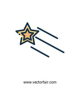 shooting star galaxy astronomy and space
