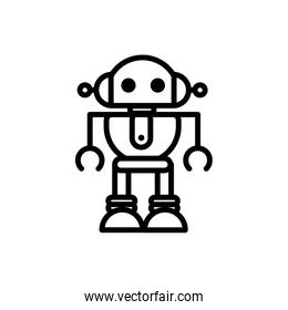 robot automated mechanism character artificial linear design