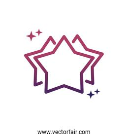star favourite rating social media gradient style icon