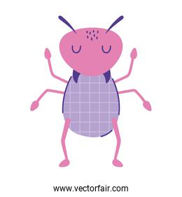 cute ant insect animal cartoon doodle color