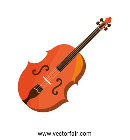 violin string musical instrument isolated icon