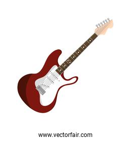 electric guitar string musical instrument isolated icon