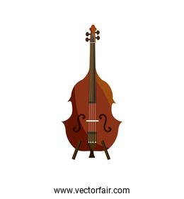 cello string musical instrument isolated icon
