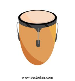 conga drum percussion musical instrument isolated icon