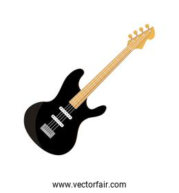 bass guitar string musical instrument isolated icon