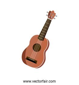 acoustic guitar string musical instrument isolated icon