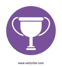 champion trophy , silhouette style icon