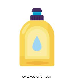 disinfectant plastic bottle product with drop detaild style