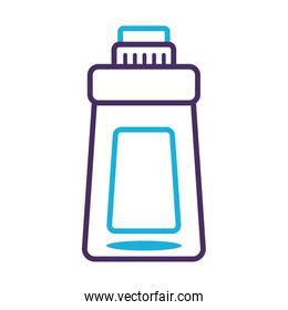 disinfectant plastic bottle product line style