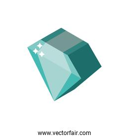 Isolated diamond icon vector design
