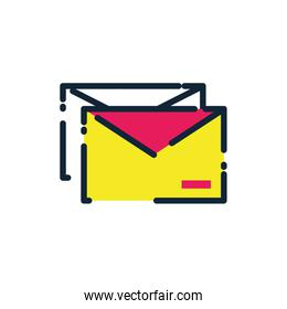 Isolated envelope message vector design