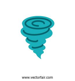 Isolated twister icon vector design