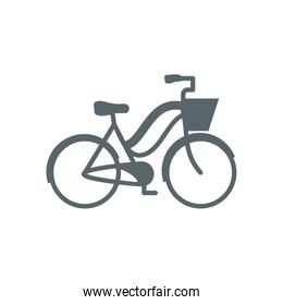 Isolated bike icon vector design