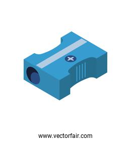 Isolated sharpener icon vector design