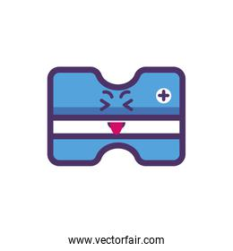 Kawaii sharpener cartoon vector design