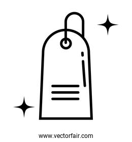 purchase tag , line style icon