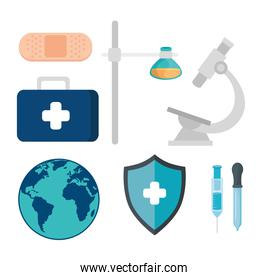 pack of healthcare medical icons