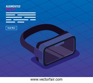 glasses of reality augmented technology