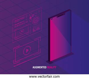 reality augmented technology with smartphone